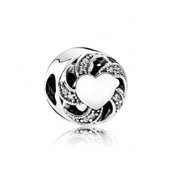 Charm Pandora corazón enlazado
