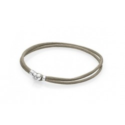 Pulsera moments Pandora beige