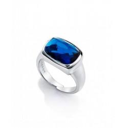 Anillo Viceroy cristal azul
