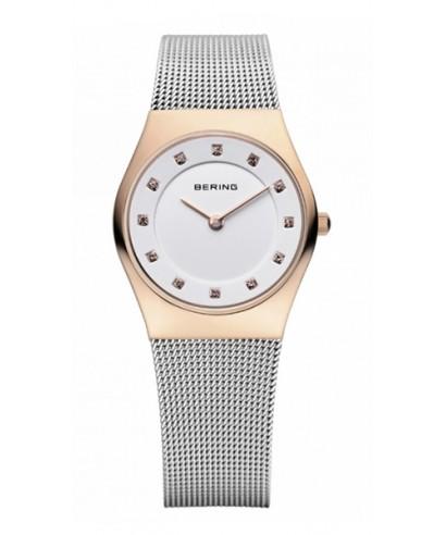 Reloj Bering rosado pequeño 12924-064