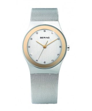 Reloj Bering plateado Swarovski 12927-010