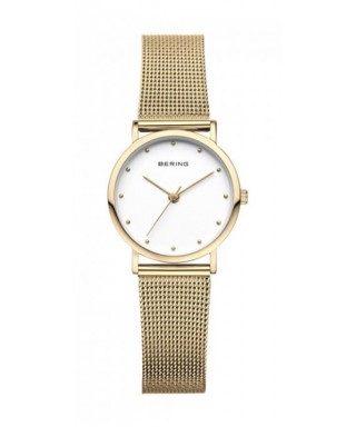 Reloj Bering agujas doradas 13426-001