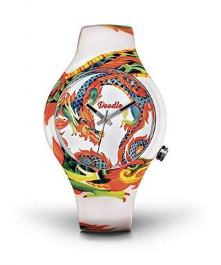 Reloj Doodle tatuaje dragones