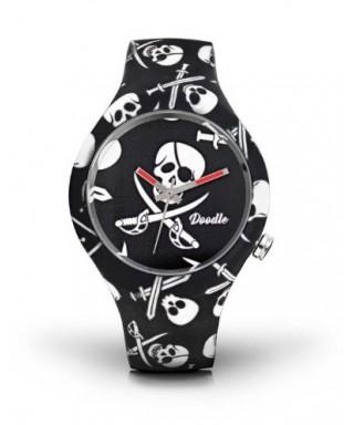 Reloj Doodle Pirata calavera