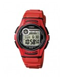 Reloj Casio rojo W-213-4AVES