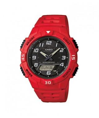 Reloj Casio rojo AQ-S800W-4BVEF