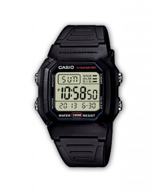 Reloj Casio digital W-800H-1AVES