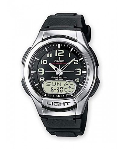 Reloj Casio digital analógico AQ-180W-1BVES