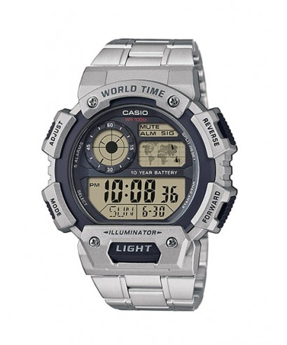 Reloj Casio World Time AE-1400WHD-1AVEF
