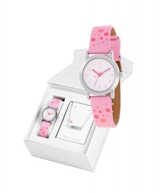 Reloj Marea rosa Comunión con esclava B35284-11