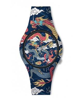 Reloj Doodle dragon tattoo