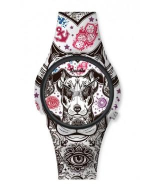 Reloj Doodle perro Terrier