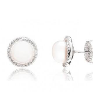 21d8b093120f Pendientes de plata y perlas