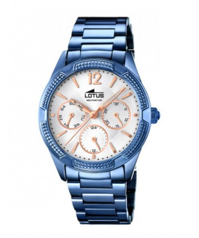 5fa07f9348eb Reloj Lotus azul para mujer 18248 1