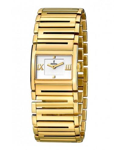 Reloj Festina dorado mujer
