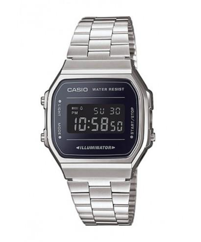 5ce821735eef Reloj Casio vintage plateado y negro