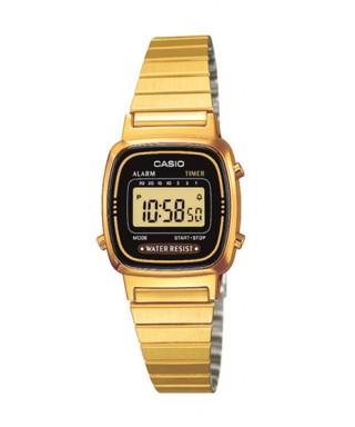 Reloj Casio pequeño dorado LA670WEGA-1EF