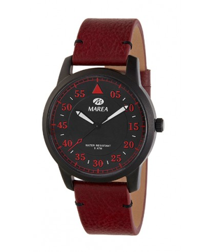 Reloj Marea Aviador rojo Bandolera B54151/4
