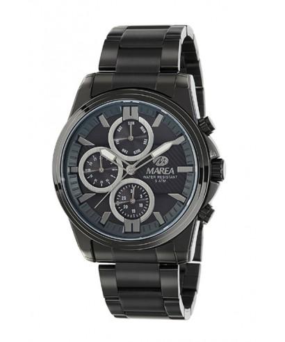 Reloj Marea acero negro