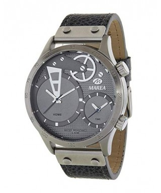 Reloj negro Marea doble horario B54104/4