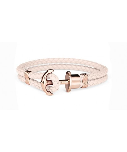 Pulsera Paul Hewitt ancla rosa chicle