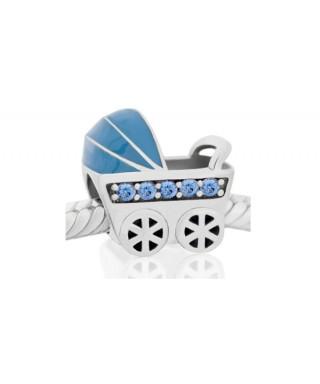 Charm Niagarra carrito bebé azul