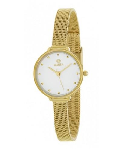 Reloj Marea acero dorado mujer
