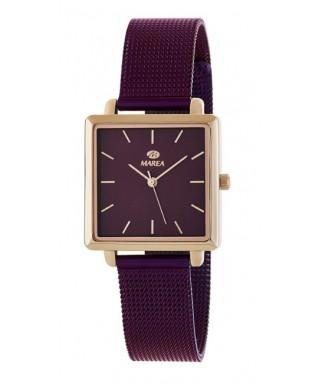 Reloj Marea cuadrado mujer morado