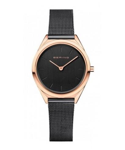 Reloj Bering mujer ultra slim negro 17031-166