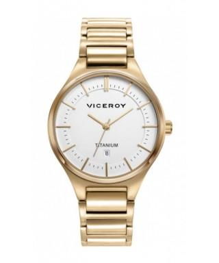Reloj Viceroy mujer Titanio dorado