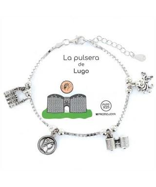Pulsera de plata Lugo