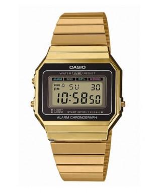 Reloj Casio dorado retro A700WEG-9AEF