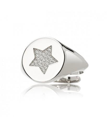 Anillo plata Noveottouno Estrella