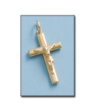 Cruz hueca de Oro cristo