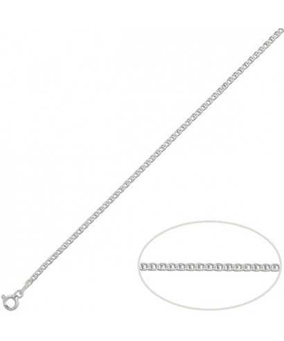 Cadena de plata ancla 3 mm/60 cm