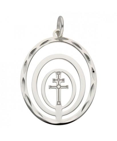 Colgante plata cruz