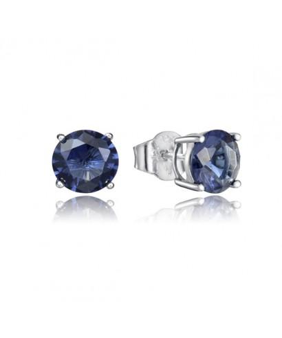 Pendientes Viceroy cristal azul