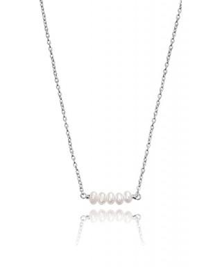 Collar Viceroy perlas y plata