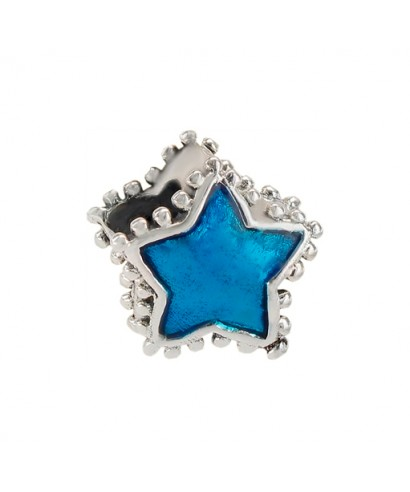Abalorio Estrella de plata
