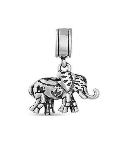Abalorio plata Elefante