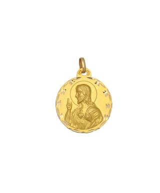Medalla Oro Sagrado Corazón