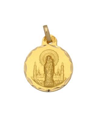Medalla Oro Virgen del Pilar