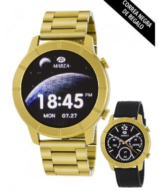 Reloj Smartwatch Marea dorado