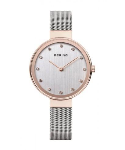 Reloj Bering para mujer rosado 12034-064