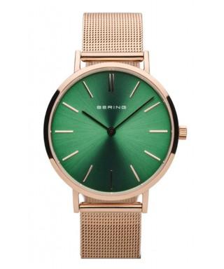 Reloj Bering mujer rosado verde 14134-368