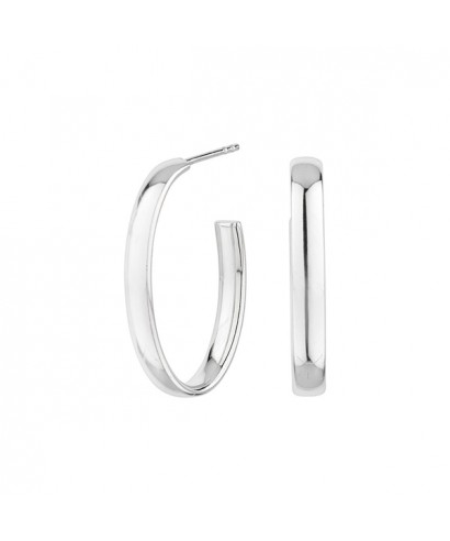 Pendientes Itemporality oval New york