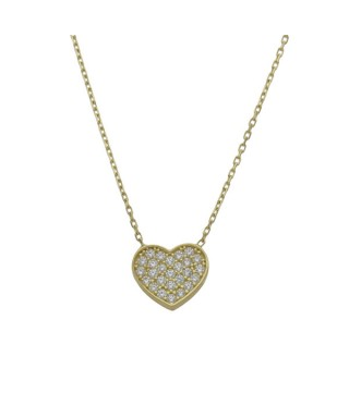 Gargantilla Oro corazón San Valentín