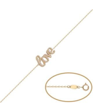 Pulsera de Oro love