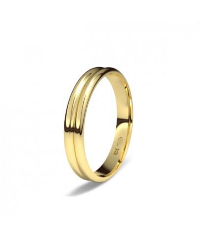 Alianza Oro boda gallonada
