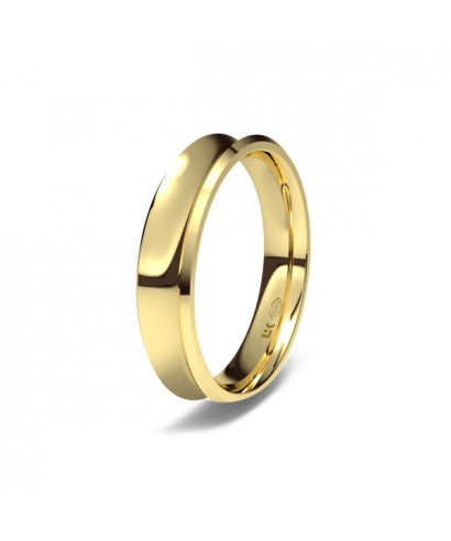 Alianza Oro boda concava